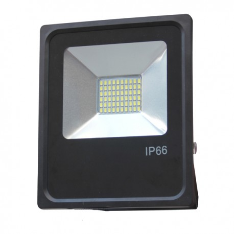 Faro Led 20w Slim 6000K° Nero IP65