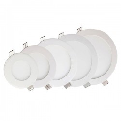 6W LED BUILT-IN MODULE ROUND WARM WHITE LIGHT - WITH DRIVER