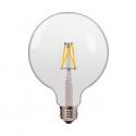 Lampadina LED 2800K 4W Filament LED BULB G125 E27