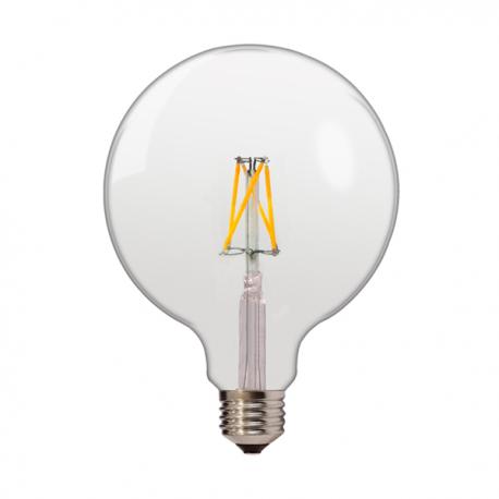 Lampadina LED 4500K 6.5W FILAMENT G125 E27